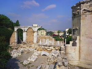 Tower of the Winds and Roman Agora, Athens, Greece by Hans Peter Merten