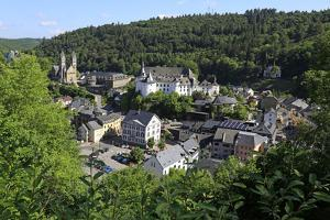 Town of Clervaux, Canton of Clervaux, Grand Duchy of Luxembourg, Europe by Hans-Peter Merten