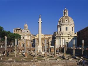 Trajan's Forum, Rome, Italy by Hans Peter Merten