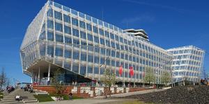 Unilever House, HafenCity, Hamburg, Germany, Europe by Hans-Peter Merten