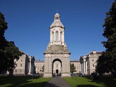 University Trinity College, Dublin,Republic of Ireland, Europe by Hans Peter Merten