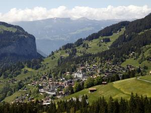 Wengen, Bernese Oberland, Swiss Alps, Switzerland, Europe by Hans Peter Merten