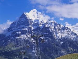 Wetterhorn Mountain, Grindelwald, Bernese Oberland, Switzerland by Hans Peter Merten