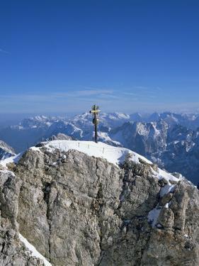 Zugspitze Peak 2963M, Highest Mountain in Germany, Bavaria, Germany by Hans Peter Merten