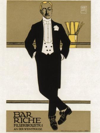 Bar Riche, 1907
