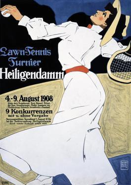Lawn Tennis Tunier by Hans Rudi Erdt