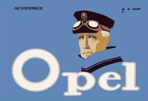 Opel Automobile by Hans Rudi Erdt