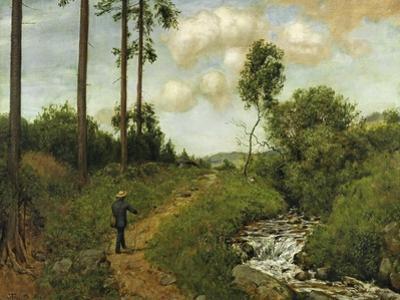 Hiker in the Black Forest (Der Wanderer Im Schwarzwald), 1891