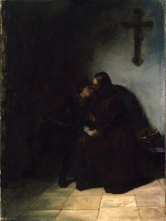 The Convict's Farewell, C1860-1900. German Painting