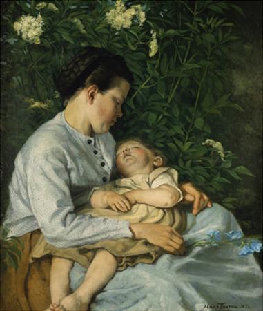 Unter Dem Flieder, 1871