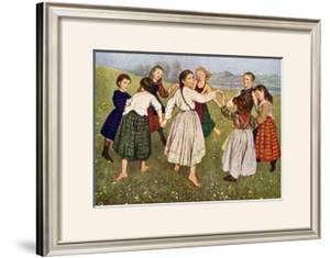 The Kindergarten Children by Hans Thomas