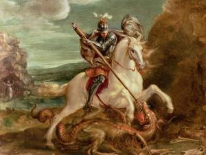 St. George Slaying the Dragon by Hans von Aachen