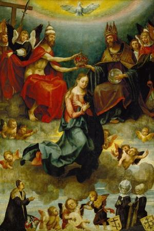 Coronation of the Virgin. 1514 by Hans Von Kulmbach