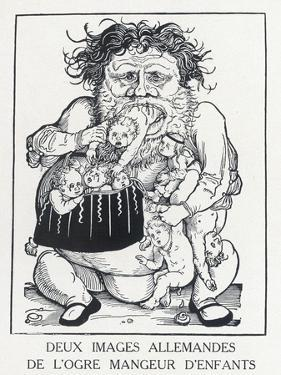 An Ogre Who Eats Children Who Misbehave by Hans Weidlitz