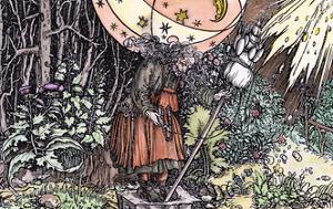 Witch, Weidlitz by Hans Weidlitz