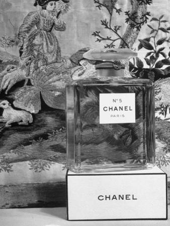 Close Up of Perfume Bottle