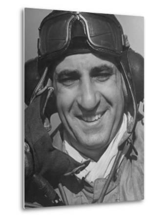"Officer Sam A. Mauriello, 32, Member of the ""Eagle Squadron"" by Hans Wild"