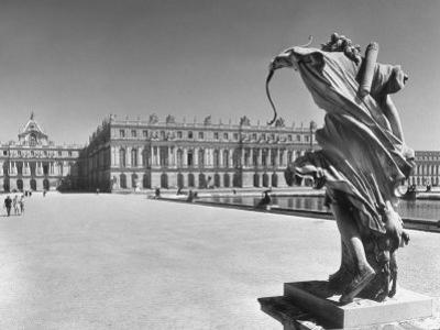 View across the Grounds of the Versailles, Where the Royalty Resides by Hans Wild