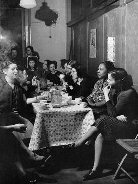 Garment Worker Yetta (Circled), Union Ilgwu, New York, NY, 1938 by Hansel Mieth
