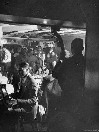 Jazz Orchestra in Harlem Club