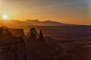 Textures of a Canyonlands Sunrise by Hansrico Photography