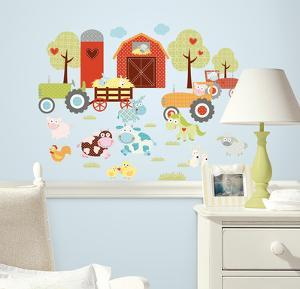 Happi Barnyard Peel & Stick Wall Decals