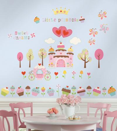 Happi Cupcake Land Peel & Stick Wall Decals