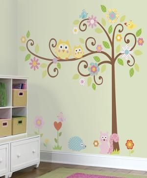 Happi Scroll Tree Peel & Stick Wall Decal MegaPack
