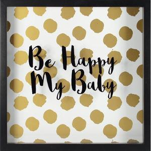 Happy Baby -Gold