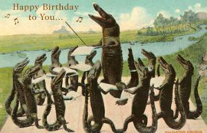 Happy Birthday, Alligator Chorus