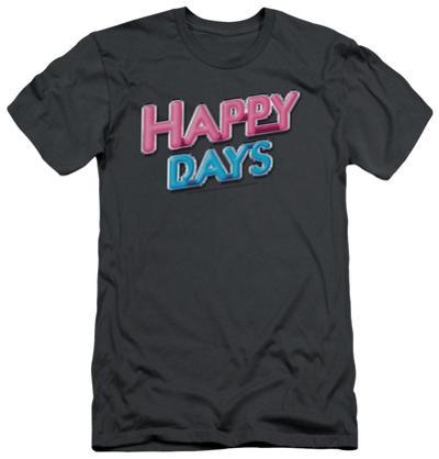 Happy Days - Happy Days Logo (slim fit)