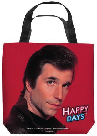 Happy Days - Red Fonz Tote Bag