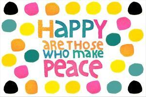 Happy Dots- Make Peace