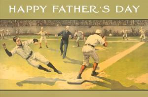 Happy Father's Day, Old Time Baseball Game