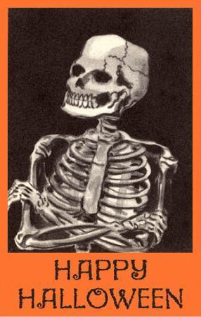 Happy Halloween, Skeleton