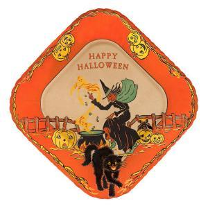 Happy Halloween, Witch and Black Cat