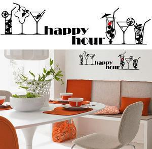 Happy Hour 13 Wall Stickers