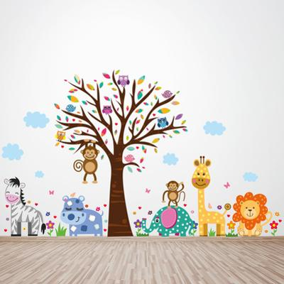 Happy London Zoo Animal Tree Kids