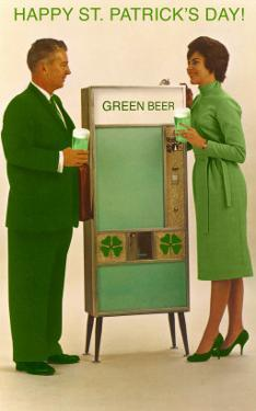 Happy St. Patrick's Day, Green Beer Vending Machine