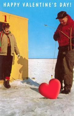 Happy Valentine's Day, Ice Fishing