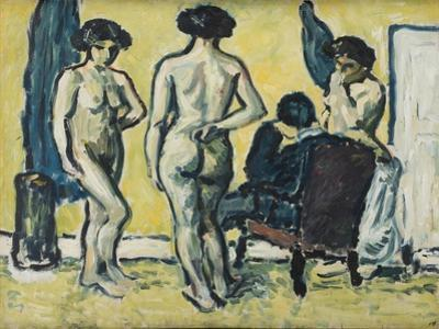 The Judgment of Paris, 1909 by Harald Giersing