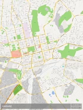 Harare, Zimbabwe Map
