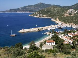 Harbour at Kalkan, a Popular Tourist Resort, Antalya Province, Anatolia, Turkey