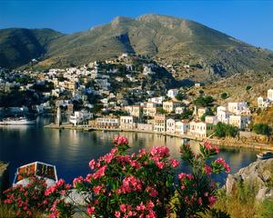 Harbour of Symi, Greece