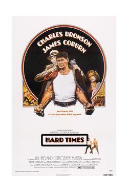 Hard Times, Top from Left: James Coburn, Charles Bronson, Jill Ireland, 1975