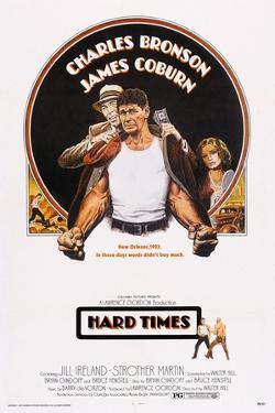 Hard Times, Top from Left: James Coburn, Charles Bronson, Jill Ireland, 1975
