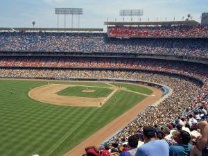 Dodgers Stadium, Los Angeles, California, United States of America, North America by Harding Robert