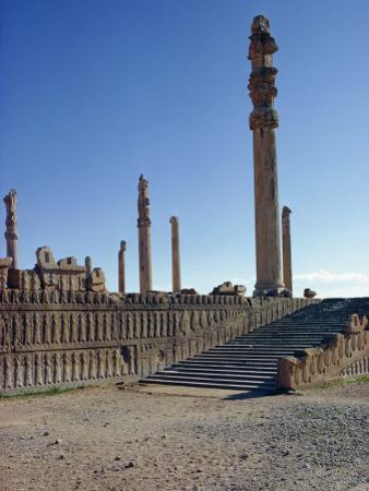 Persepolis, UNESCO World Heritage Site, Iran, Middle East by Harding Robert