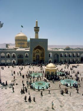 Shrine of Imam Reza, Mashad, Iran, Middle East by Harding Robert