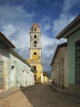Tower of St. Francis of Assisi Convent and Church, Trinidad, Cuba, West Indies, Central America by Harding Robert